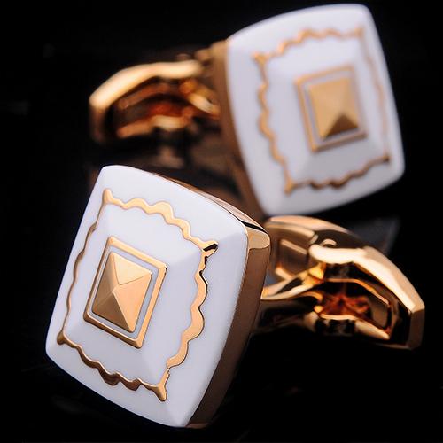 Luxusné manžetové gombíky v zlatom prevedení