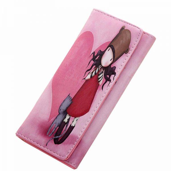 Peňaženka z kolekcie Cartoon - Girl in love