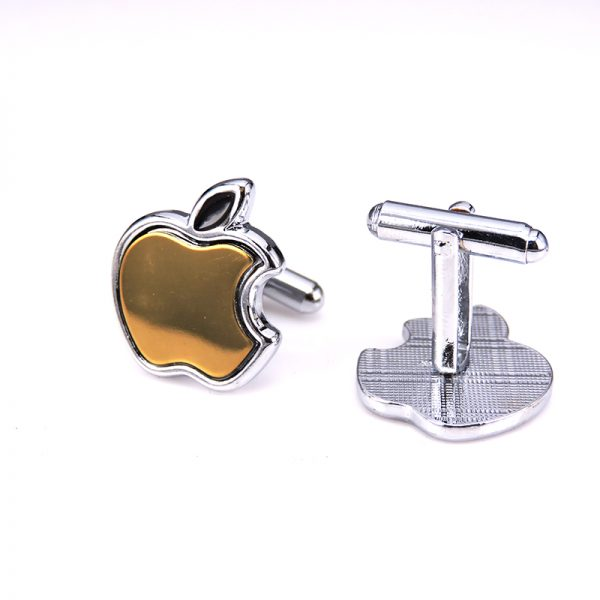 Luxusné manžetové gombíky so znakom Apple