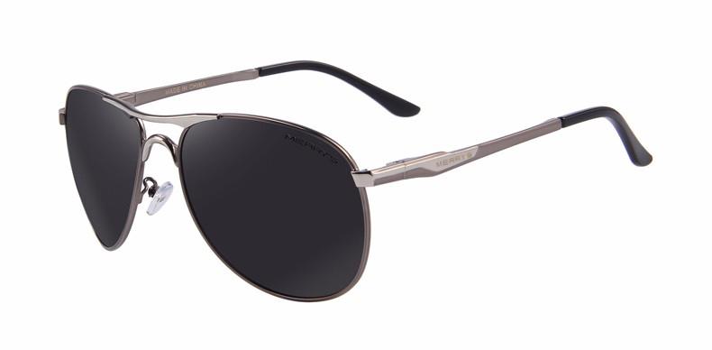 a4138d644 Vysoko polarizované značkové slnečné okuliare - strieborné