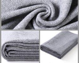 Teplý bavlnený šál v rôznych farbách 190 cm x 70 cm