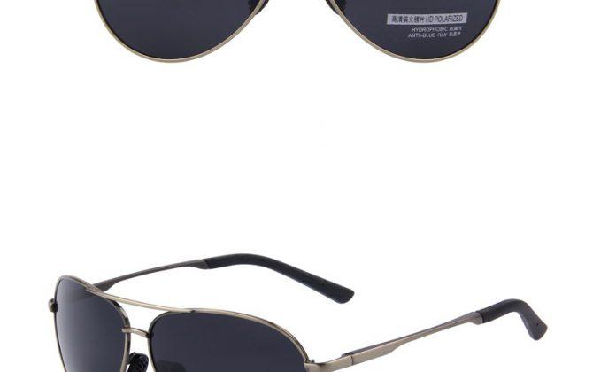 Štýlové pánske polarizované okuliare v rôznych prevedeniach