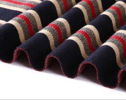 Kvalitný pánsky bavlnený šál - Vzor 10