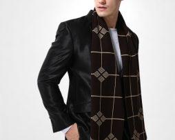 Kvalitný pánsky bavlnený šál - Vzor 09
