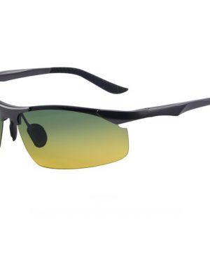 293382bdf Moderné kvalitné okuliare pre šoférov s tmavo šedým rámikom - tieňované