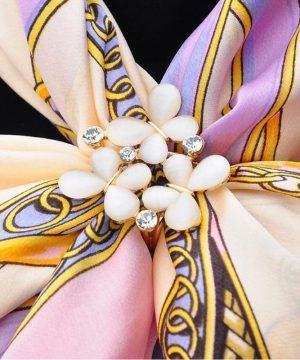 Prsteň na šatku – Motýle z opálu