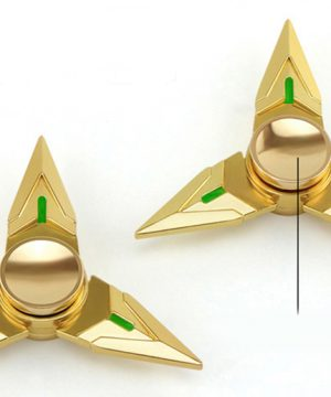 Fidget spinner - Golden shuriken