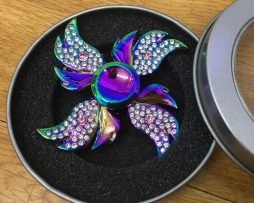 Fidget spinner - Pomôcka proti napätiu - Metal Jewel