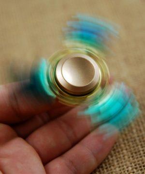 Fidget spinner - Protistresová hračka - Topaz wings