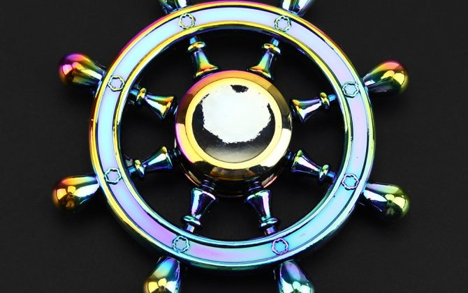 Anti-stress fidget spinner - Wheel