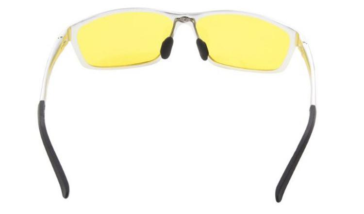 Polarizované okuliare pre šoférov so strieborným rámikom  cfae14e1aca