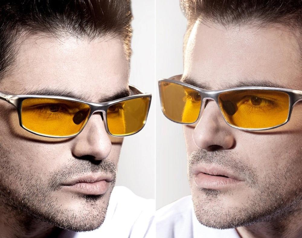 Polarizované okuliare pre šoférov so strieborným rámikom  76a071a717b