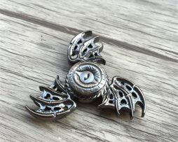 Fidget spinner - Dragon eye silver