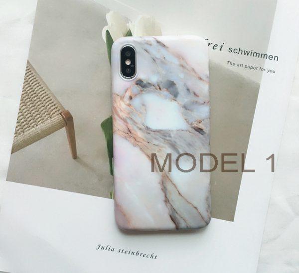 Mramorový obal na iPhone X