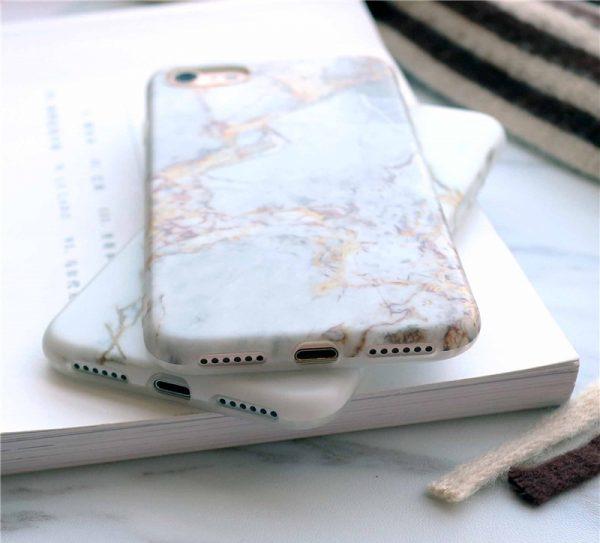 Mramorový obal na iPhone 8 a iPhone 8 Plus