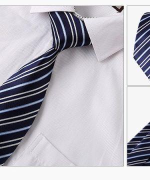 Luxusný kravatový set B- kravata + vreckovka + manžety + spona