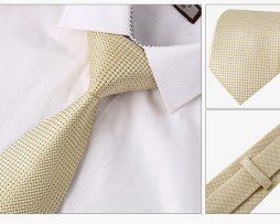 Luxusný kravatový set - kravata + vreckovka + manžety + spona
