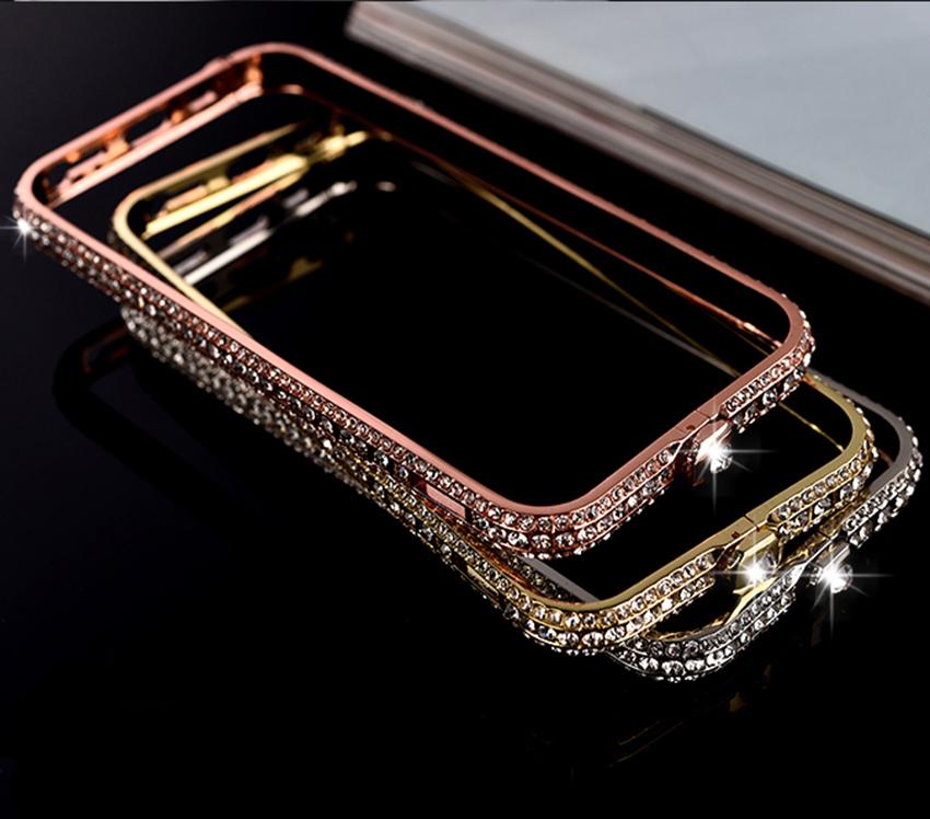 Bumper s kryštálmi na iPhone 6 (6 Plus)  1a26bd49220