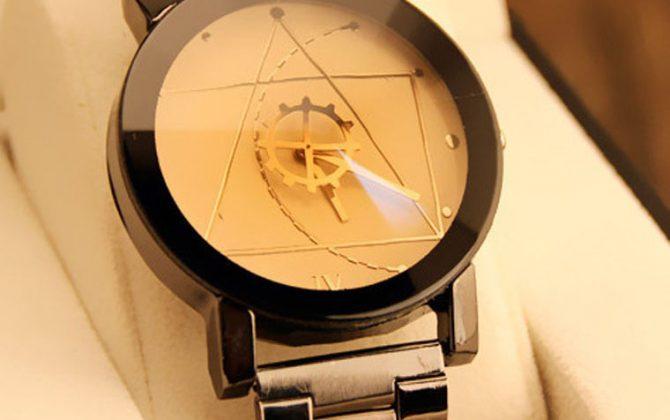 Moderné dámske a pánske hodinky
