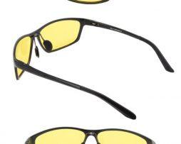 Polarizované okuliare pre šoférov s čiernym rámikom