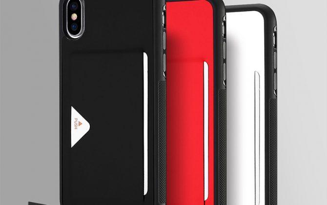 Luxusný kožený obal na iPhone X – 3 farby  f3a5a18ad83