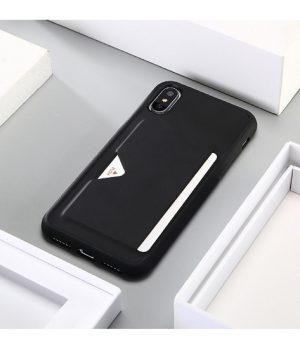Luxusný kožený obal na iPhone X - 3 farby