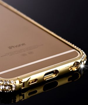 Bumper s kryštálmi na iPhone 8 , iPhone 8 Plus