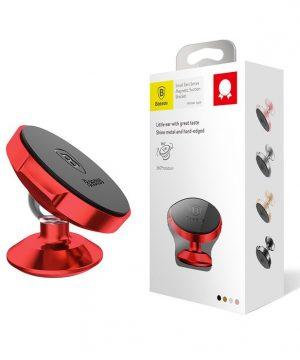 360-stupňový-štýlový-magnetický-stojan-do-auta-BASEUS-červená-farba