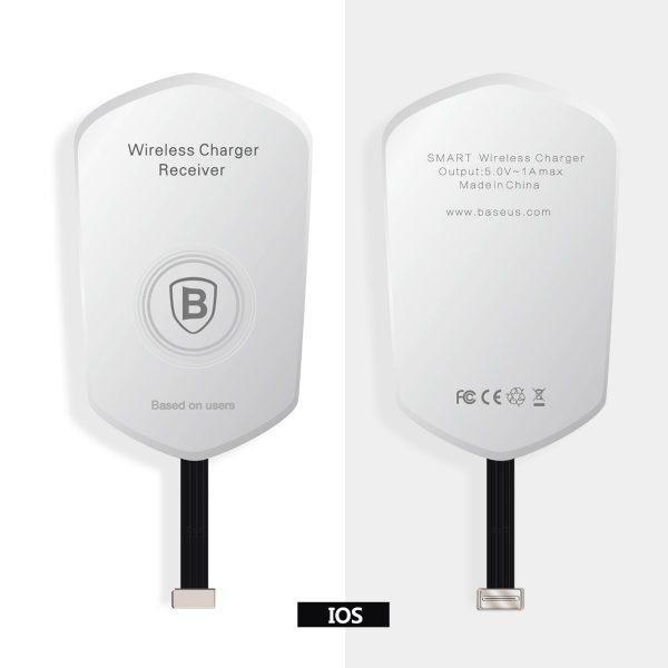 Bezdrôtový prijímač pre iPhone na možnosť bezdrôtového nabíjania
