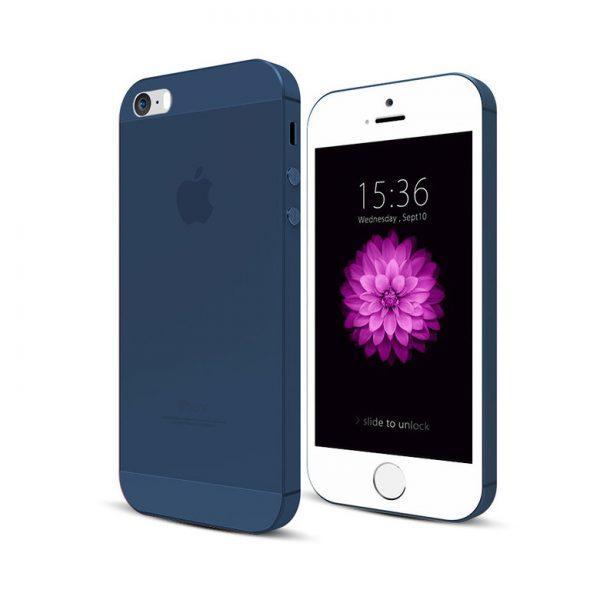 Ultratenký kryt na iPhone 5/5s/SE Modrý
