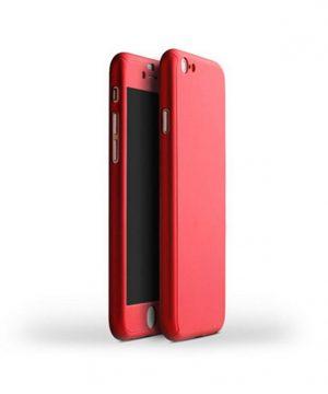 Celo telový kryt na iPhone 7 v červenej farbe