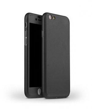 Celo telový kryt na iPhone 7 v čiernej farbe