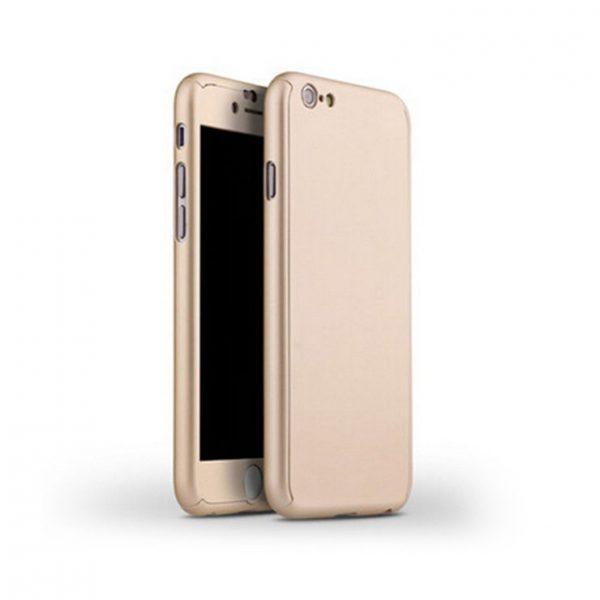 Celo telový kryt na iPhone 7 v zlatej farbe