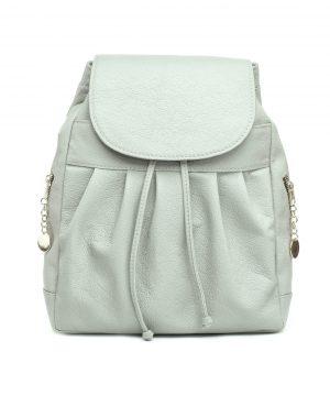 6e5c15d916 ... Dámsky kožený módny ruksak z prírodnej kože v šedej farbe (1)