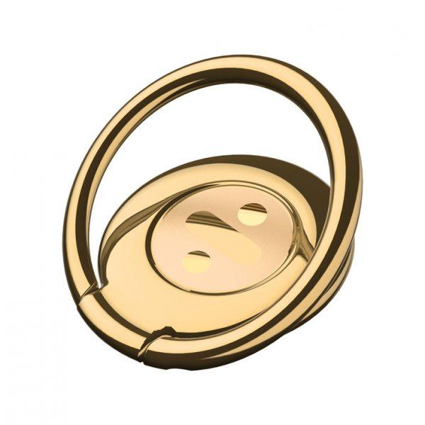Držiak-do-ruky-na-iPhone-BASEUS-s-magnetom-na-palubovku-zlatá-farba
