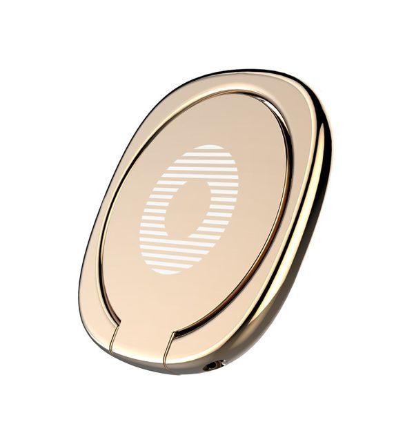 Držiak do ruky na iPhone BASUES s magnetom na pripnutie na palubovú dosku, zlatá farba