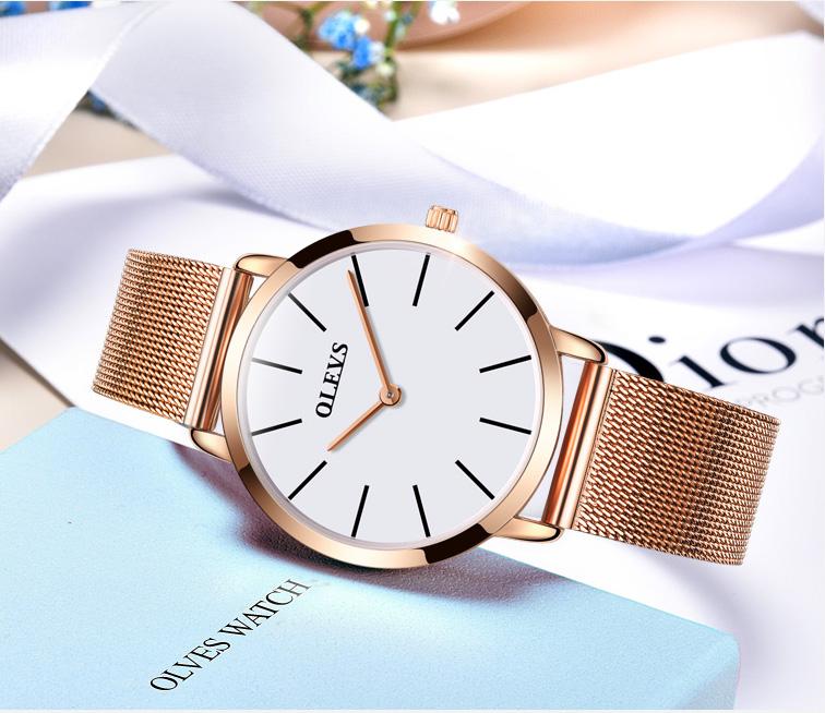 b84f13e18 Elegantné dámske hodinky Olevs v troch rôznych prevedeniach ...