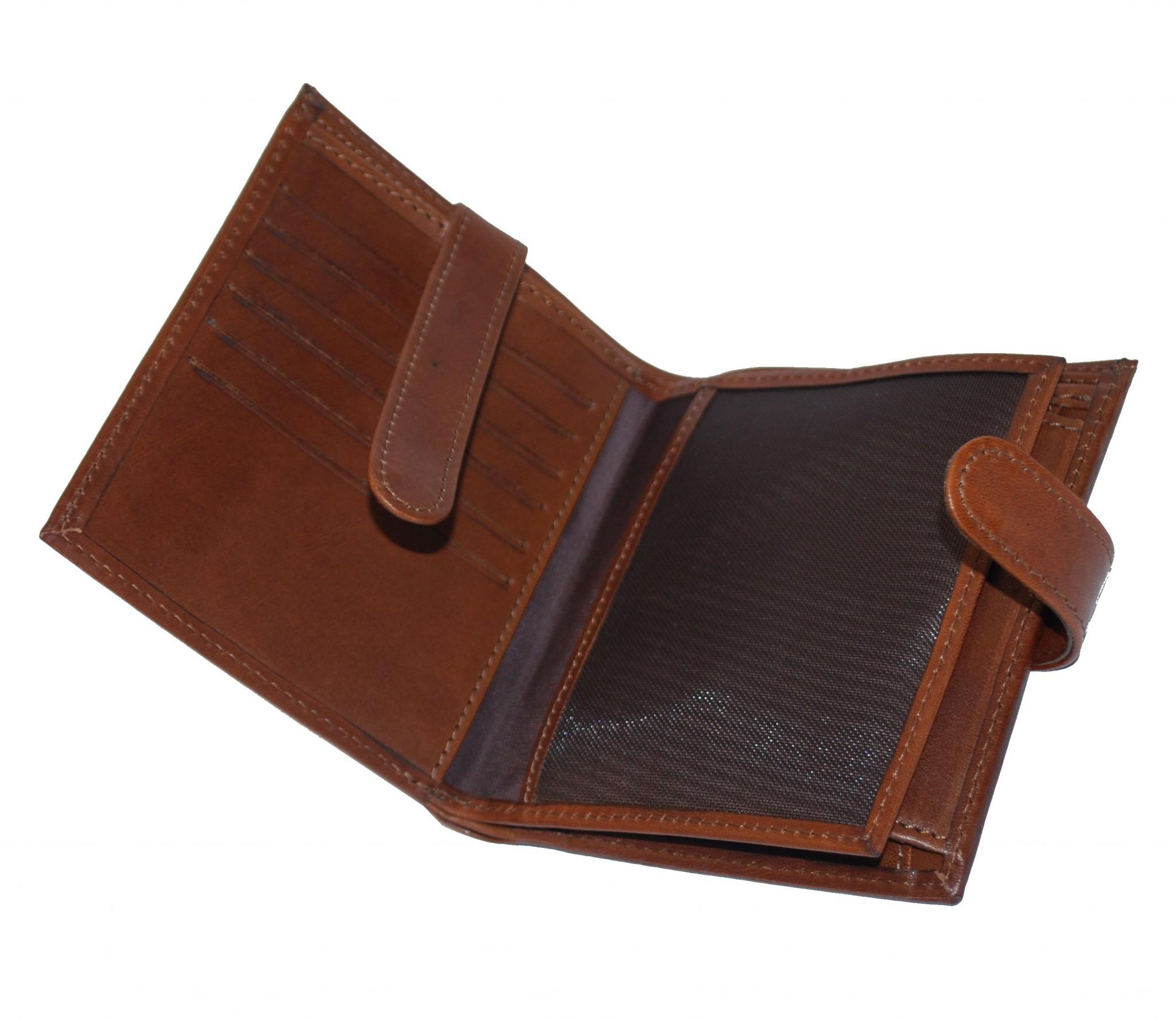 Luxusná exkluzívna kožená peňaženka č.8333 v hnedej farbe ·   Predošlé ... 888b43535c4
