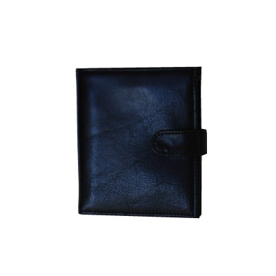 Luxusná exkluzívna kožená peňaženka č.8333 v čiernej farbe