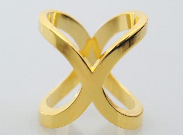 Luxusný jednoduchý dvojprstenec v rôznych farebných prevedeniach