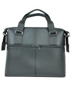 Luxusná praktická bussines taška na notebook 8676 v čiernej farbe