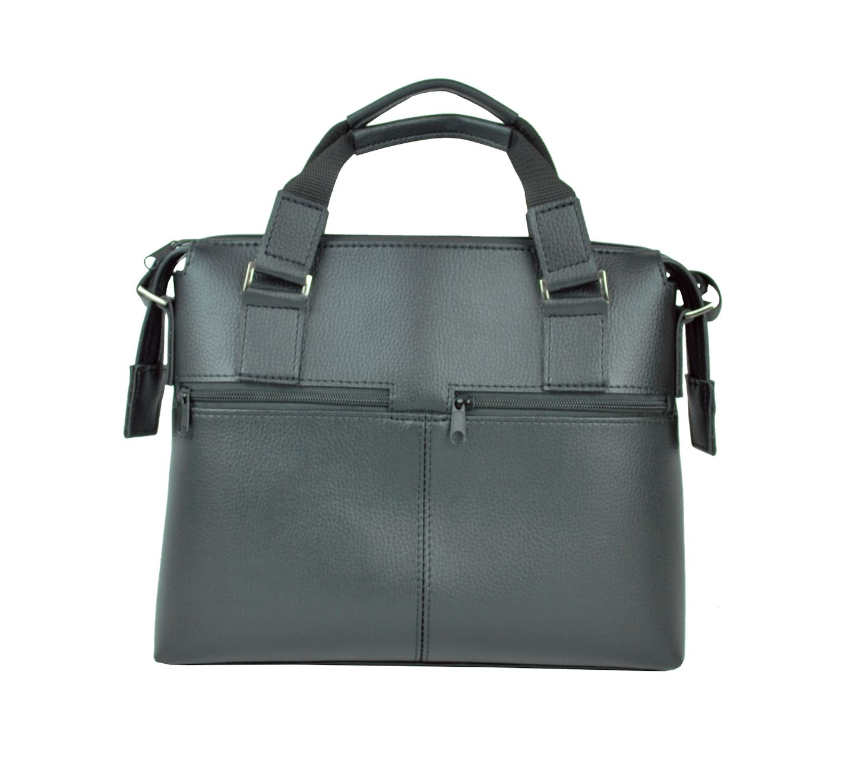 043165ce94 Luxusná praktická bussines taška na notebook 8676 v čiernej farbe ...