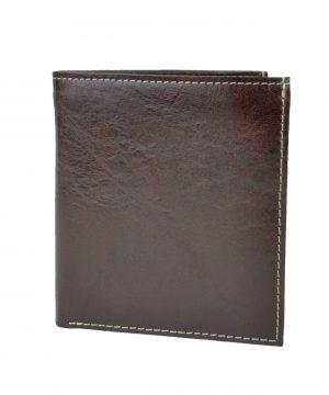 Luxusná kožená peňaženka s bohatou výbavou č.8334 v hnedej farbe