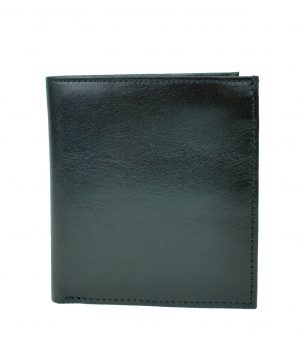 Luxusná kožená peňaženka s bohatou výbavou č.8334 v čiernej farbe