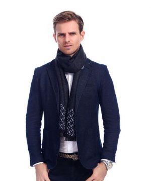 Kvalitný šál pre pánov v rôznych farbách