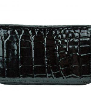 790829d017 Luxusná elegantná peňaženka z pravej kože č.8552 v čiernej farbe ...