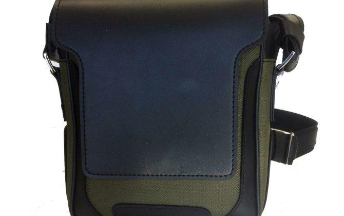 Luxusná pánska etua crossbody 8671k v čiernej farbe