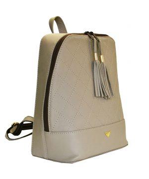 Luxusný dámsky kožený ruksak z prírodnej kože vhodný ako na krátkodobé vychádzky do prírody tak aj ako moderný a trendydoplnok do mesta