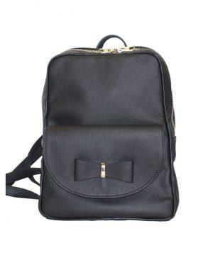 d85f17b9e6 Luxusný kožený ruksak z pravej hovädzej kože č.8668 v hnedej farbe ...