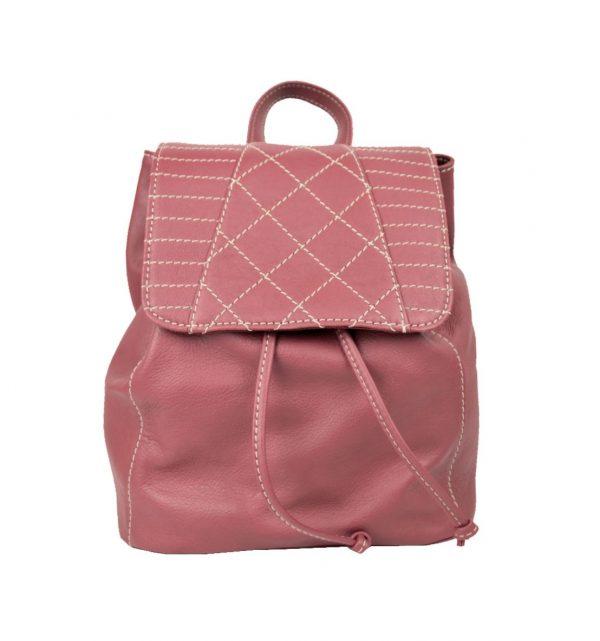 Luxusný kožený ruksak. Ak si želáte zanechať trochu luxusu a elegancie, odporúčame vám práve tento ruksak vyrobený zpravej prírodnej kože